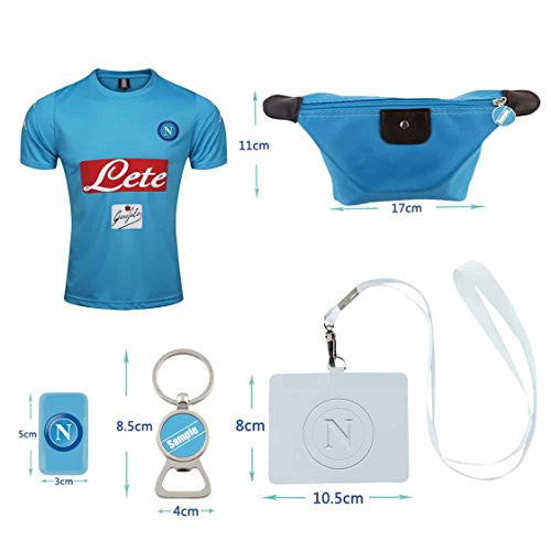 #9 Di Canio (6 in 1 Combo) The Light Blues Home Adult Jersey 2016-2017