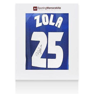 Gianfranco Zola Signed Jersey