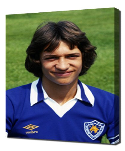 Everton Gary Lineker - Canvas Art Print