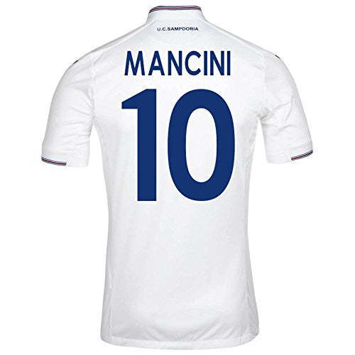 2015-16 Sampdoria Away Shirt (Mancini 10)