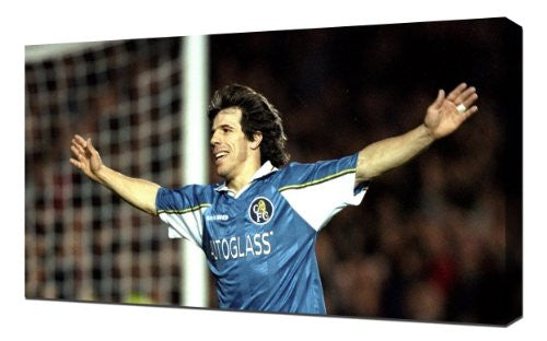 Chelsea Gianfranco Zola - Canvas Art Print