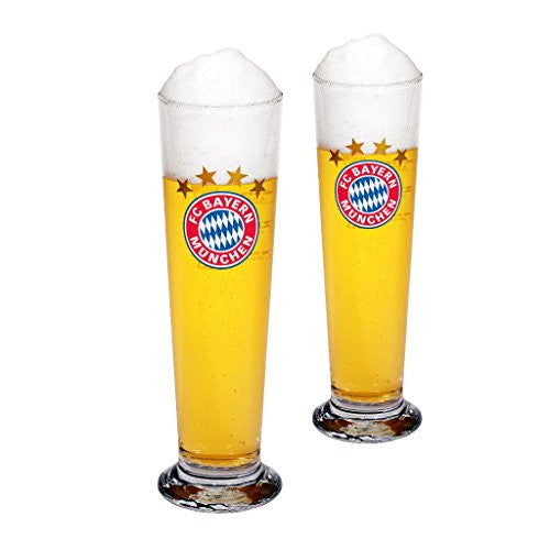FC Bayern Munich Pilsner Glasses