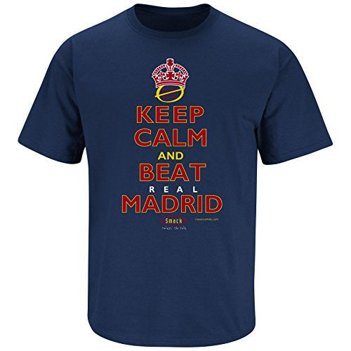 FC Barcelona Fans 'Keep Calm and Beat Real Madrid' T Shirt