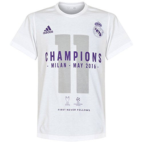 Real Madrid Official 2016 Champions League Winners Tee