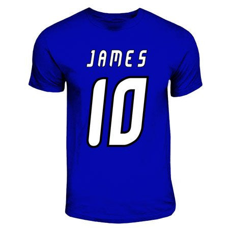James Rodriguez Porto Hero T-Shirt (royal Blue)