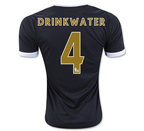 Leicester City F.C. Away Jersey '#4 Drinkwater'