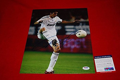 Autographed Ricardo Kaka Brazil Real Madrid World Cup Soccer Signed PSA/DNA 11x14 1