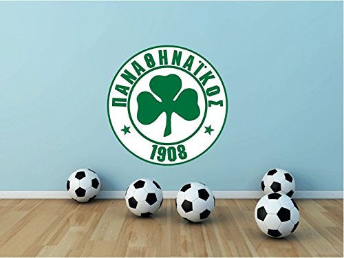 "Panathinaikos FC Wall Decor Sticker 22"" X 22"""