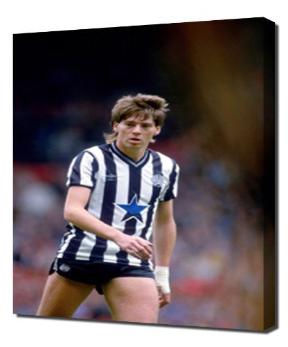 Newcastle Chris Waddle 2 - Canvas Art Print