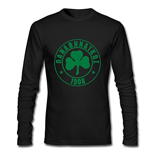 Panathinaikos Cotton T Shirt Black
