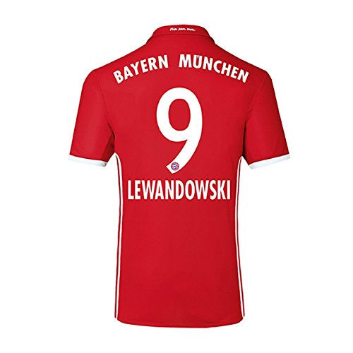 2016-17 Bayern Home Shirt (Lewandowski 9)
