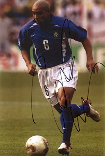 Roberto Carlos BRAZIL autograph, IP signed photo