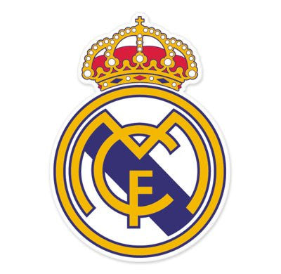 Real Madrid CF Car Sticker