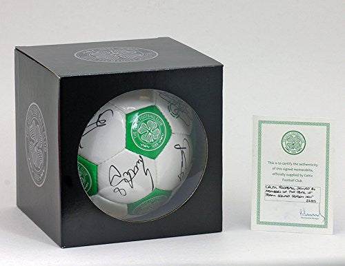 Celtic Squad Hand Signed Football Ball + Official Club COA