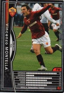 WCCF 04-05 / AS Roma / Black / 175 / Vincenzo Montella
