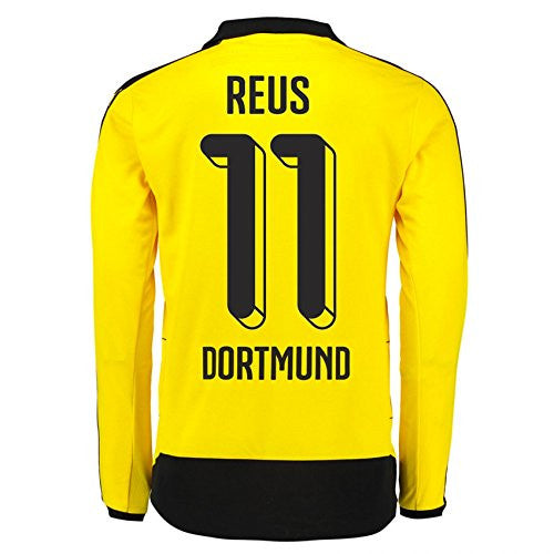 2015-16 Dortmund Home Long Sleeve Shirt (Reus 11)