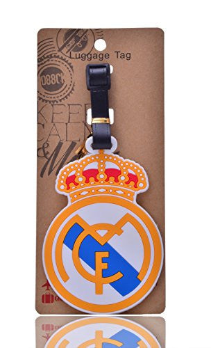 Real Madrid Travel Luggage ID