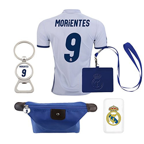 #9 Morientes (6 in 1 Combo) Real Madrid C.F. Home 2016-2017