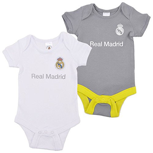 Real Madrid Baby Bodysuits