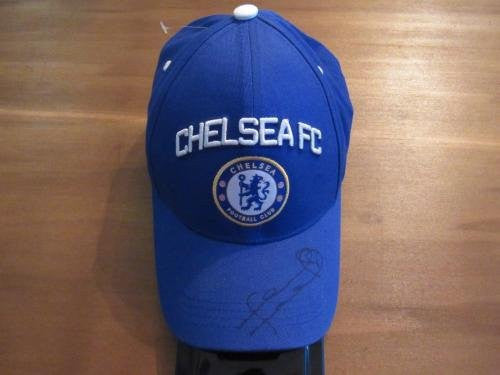 Frank Lampard Chelsea FC Signed Cap Authentic - JSA Certified