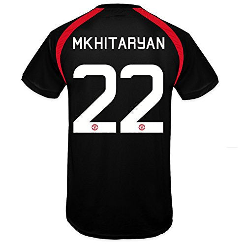 Manchester United FC 'Mkhitaryan 22' Black Training Kit