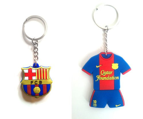 FC Barcelona Lionel Messi #10 Home Jersey Keychain