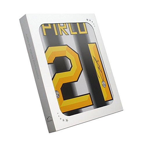 Andrea Pirlo Signed Juventus 2011-12 Jersey In Gift Box