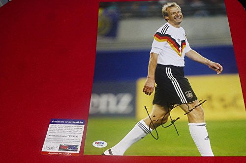 Autographed Jurgen Klinsmann Photo - 11x14 USA World Cup 2014 - PSA/DNA Certified