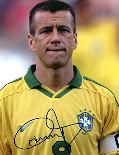 Carlos Dunga TOP BRAZILIAN autograph, IP signed photo