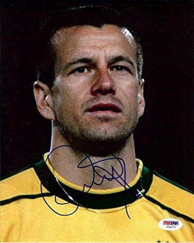Signed Dunga Photo - Authentic 8x10 - PSA/DNA Certified - Autographed Photos