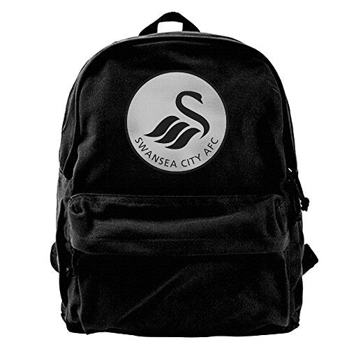 Swansea City Canvas Backpack Shoulder Bag