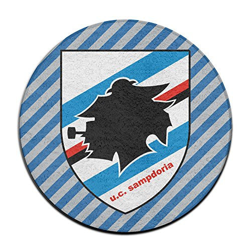 Calcio Sampdoria Circular Outdoor Doormat