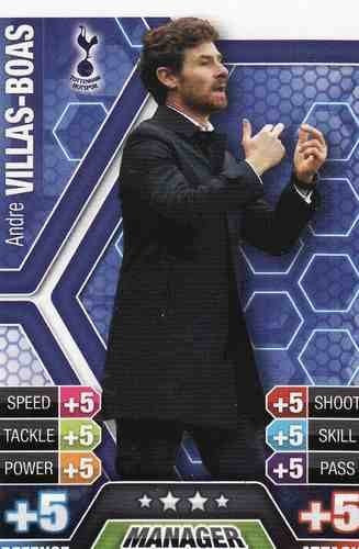 Match Attax 2013/2014 Andre Villas-Boas Tottenham 13/14 Manager by Match Attax