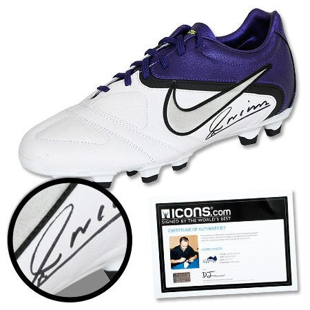 Andres Iniesta Signed Cleat - One Size