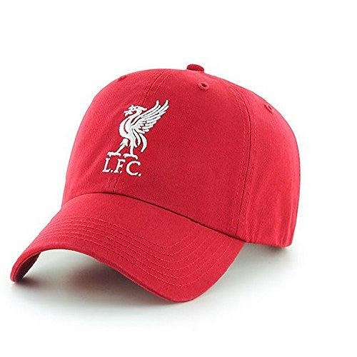 Liverpool FC Red Hat Cap with Liverbird
