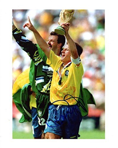 Carlos Dunga BRAZILIAN autograph, IP signed photo