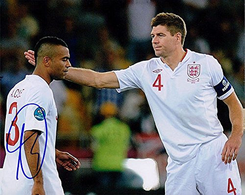 Signed Ashley Cole 8x10 England Photo