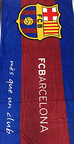 MES QUE UN CLUB FC Barcelona Beach Towel