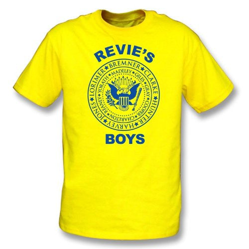 Leeds Revie's Boys T-Shirt