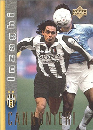1997-98 Juventus Upper Deck #17 Filippo Inzaghi - NM-MT