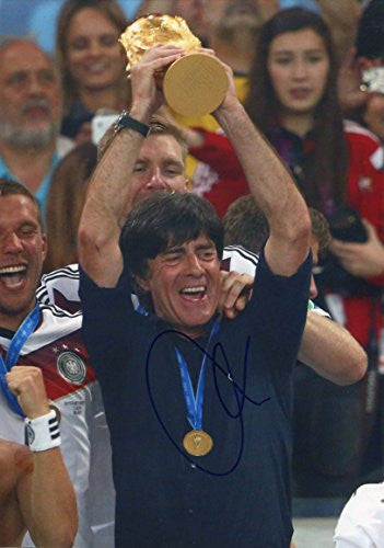 Joachim Löw WORLD CUP 2014 autograph, In-Person signed photo