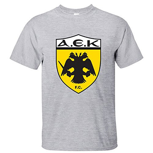 AEK Athens Men's Grey Tee