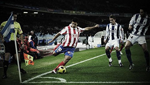 Atletico de Madrid Poster Silk