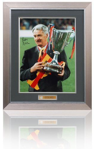 Large Bobby Robson Hand Signed Photograph (LOT778)