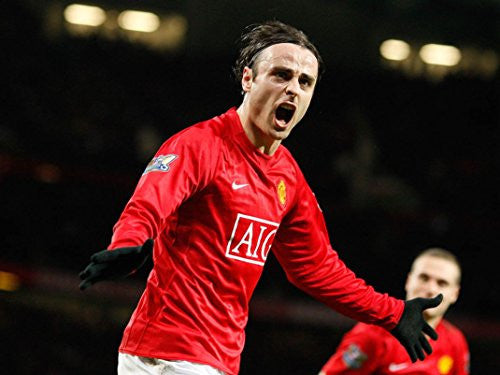 Dimitar Berbatov Poster 19x14 inch On Silk