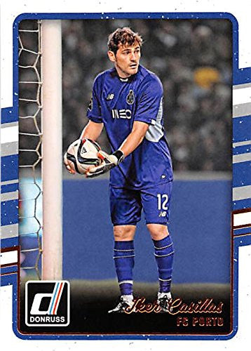 Iker Casillas Trading Card 2016 Donruss #79