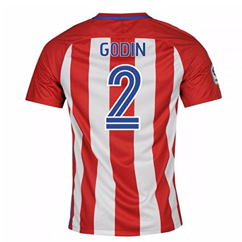 2016-17 Atletico Madrid Home Shirt (Godin 2)