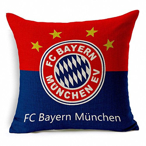 Bayern Munich Throw Pillow