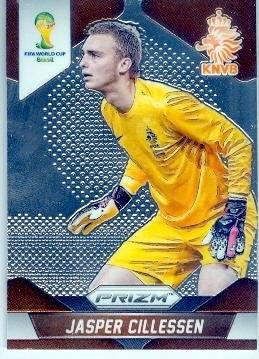 Jasper Cillessen Trading Card 2014 World Cup Prizm Chrome #27