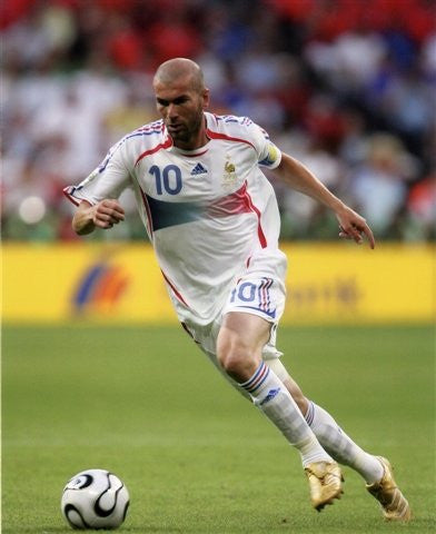 Zinedine Zidane Photo